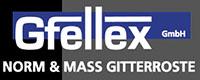 Gfellex Lichtschachtabdeckungen und Gitterroste Logo